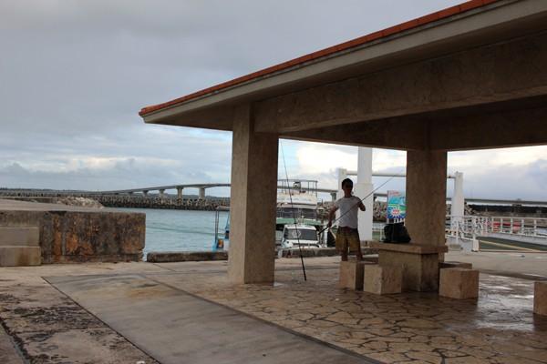 宮古島の漁港